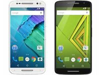 Motorola MOTO X Play (4G LTE) - 16GB - Black AND GREEN UNLOCKED