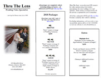 Wedding / Corporate Videos by Thru The Lens