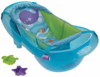Infant to Toddler Bath Tub with Clip on sling - $20