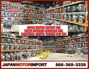 Vente et installations de Moteurs, Transmissions JDM Japonnaise