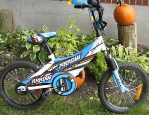 Kids CCM bike with 16 inch tires ,