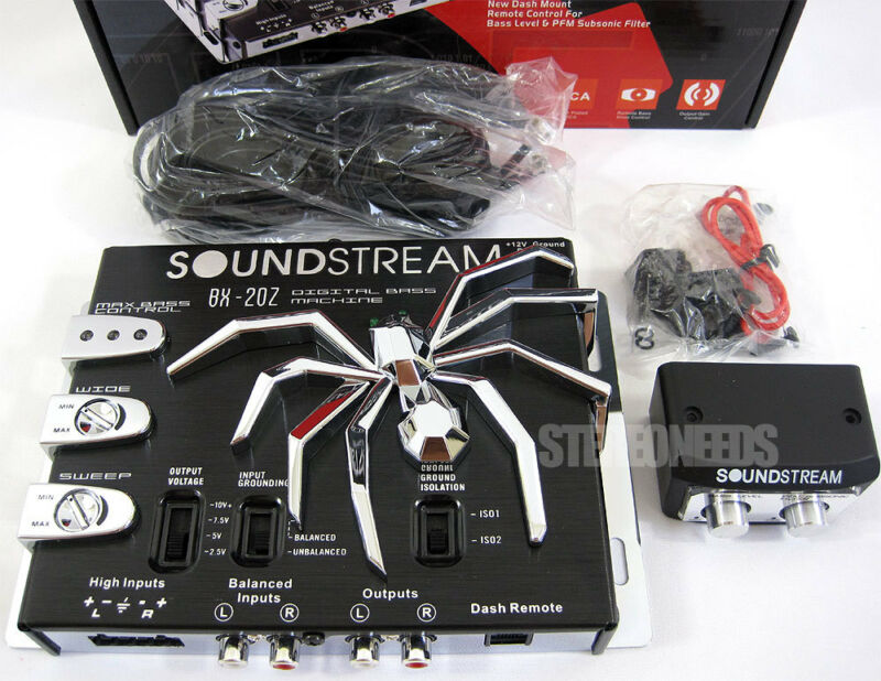 NEW SOUNDSTREAM BX-20Z CAR DIGITAL BASS BOOST RECONSTRUCTION PROCESSOR EPICENTER