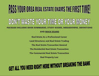 All You Need to Pass Your OREA Real Estate Exams!