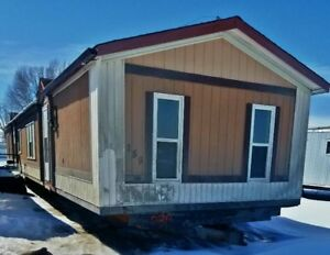 16 Wide 3 bed 2 bath Mobile Home - Delivery Included in Alberta