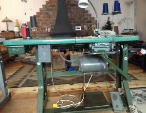 2 Industrial sewing machines for sale
