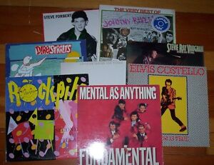 classic rock record albums MENTAL AS ANYTHING tubes DIRE STRAITS