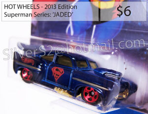 ~ HOT WHEELS 2013 Ed./'SuperMan (Kroger Exclusive) JADED ~