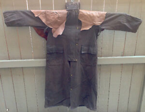 Australian Koolah Duster and Matching Leather Chaps