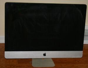 "27"" Apple iMac Computer OS X 10.8.2, 3.2 GHz intel core 13 4 GB"