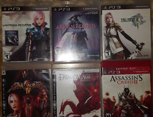 Playstation 3 Games, Nothing over $20!!!!! (Christmas Pricing)