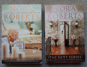 2 books by Nora Roberts: The Next Always -&- The Last Boyfriend