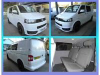 2011 Volkswagen Transporter kombi 6 seats 2.0TDi ( 102PS ) SWB T28