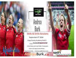 Skills and Drills with Andrea Burk