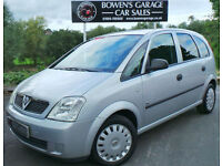 2004 VAUXHALL MERIVA 1.6 (A/C) LIFE - LOW MILES - 1 OWNER SINCE 2005 - S/HISTORY