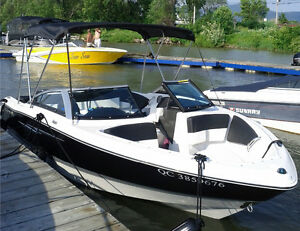Bateau Four winns,18pieds ,4 cyl. 135 hp. 7 passagers.
