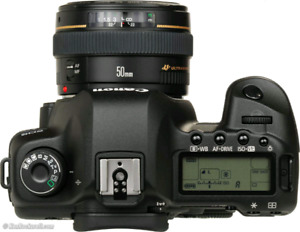 Canon 5D mark II w/ 50mm 1.8 STM lens + lots of extras