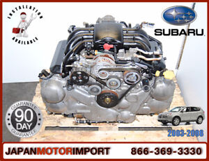 SUBARU TRIBECA EZ30, EZ30D, EZ30R ENGINE, INCLUDING INSTALLATION