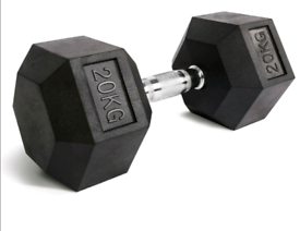 Pair of 20kg Hex dumbells, excellent condition, only £120