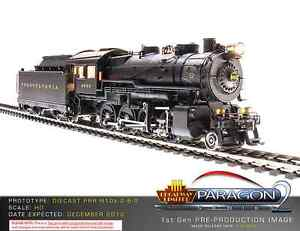 Broadway Limited 2323, HO Scale, PRR H10s 2-8-0, #9915, Paragon2 Sound/DC/DCC