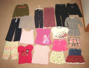 Girls Clothes, Dresses, Winter Hats - sz 4, 5, 6, Winter Boots 8