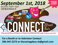 The CONNECT Street Fair - Vendor and Volunteer opportunites