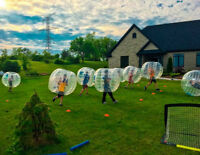 Bubble Sports Rental SAVE 25% Limited time offer