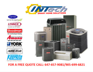 FREE QUOTE: ANY BRAND FURNACE INSTALLATION, CALL: 647-657-9081