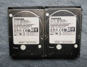 "Two SATA 1TB 2.5"" Hard Disk Drive"
