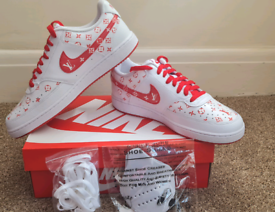 NFT Custom LV Nike Shoes - Size 9 Mens