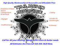 In Kitchener Call416-836-3628 for Re-Roofing & Siding service