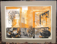 """2 Ghitta Caiserman-Roth lithos: """"Open Windows"""" and """"Gift III"""" City of Montréal Greater Montréal Preview"""