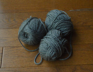 Wool and Silk yarn (hand dyed and natural) Kitchener / Waterloo Kitchener Area image 1