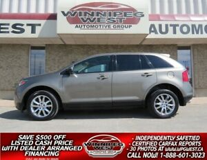 2013 Ford Edge SEL AWD,  NAV, PAN ROOF, HTD LEATHER, LOCAL TRADE