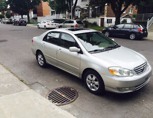 2003 Toyota Corolla LE Sedan 1.8L super special Edition