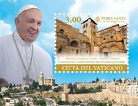 Francobolli Vaticano 2015 -i Viaggi Di Papa Francesco Nel Mondo Foglietto -  - ebay.it