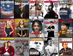 Entertainment Weekly EW ~ (1990 to 2004) 400+ Issues
