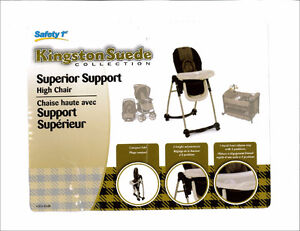 Safety 1st KingstonSuede Superior Support High Chair