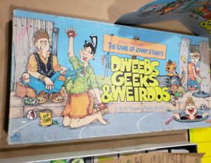 Dweebs Geeks & Weirdos boardgame