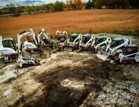 Excavation and Bobcat skidsteer services