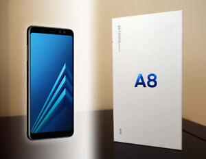 Samsung A8 (2018) - Black - Brand New Sealed in Box - $380 Firm