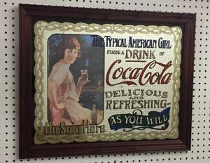 Vintage Coca Cola Mirrors