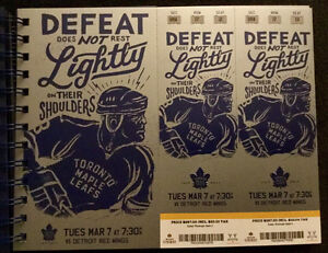 Leafs vs. Detroit Gold Tickets - March 7, 2017