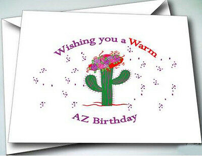 - 6 NOTE CARDS W/ ENVELOPES HAPPY BIRTHDAY DESIGN FOR RED HAT LADIES OF SOCIETY