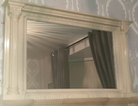 Cream Mirror