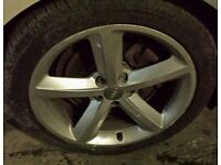 audi a4 sline allloys all 4 with tires cheap