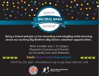 Big Deal Bash for Big Brothers Big Sisters