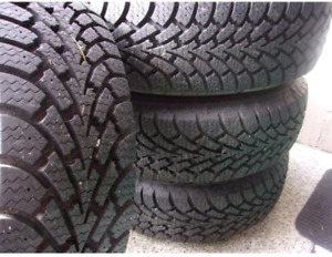 Goodyear Winter 245/55R19 Tires.