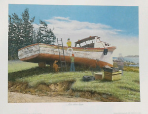 James Lumbers  - Boat print