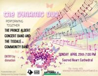 The Dynamic Duo - PA City Band & Tisdale Community Band