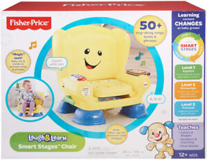 Fisher-Price Laugh & Learn Smart Stages Chair (Brand New In Box)